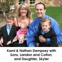 Kami and Nathan Dempsey family