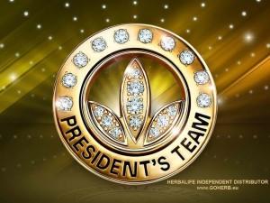 herbalife presidents team pin