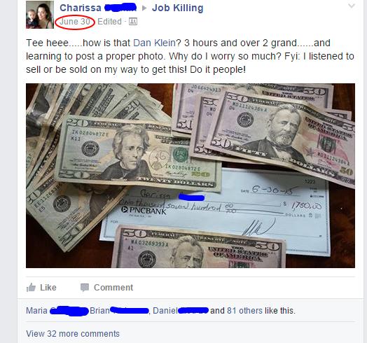 Charissa_ what is job killing