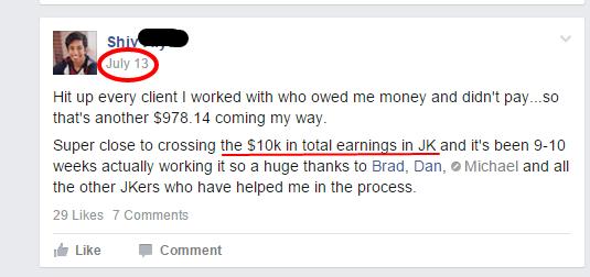Shiv Can you make money in Job Killing